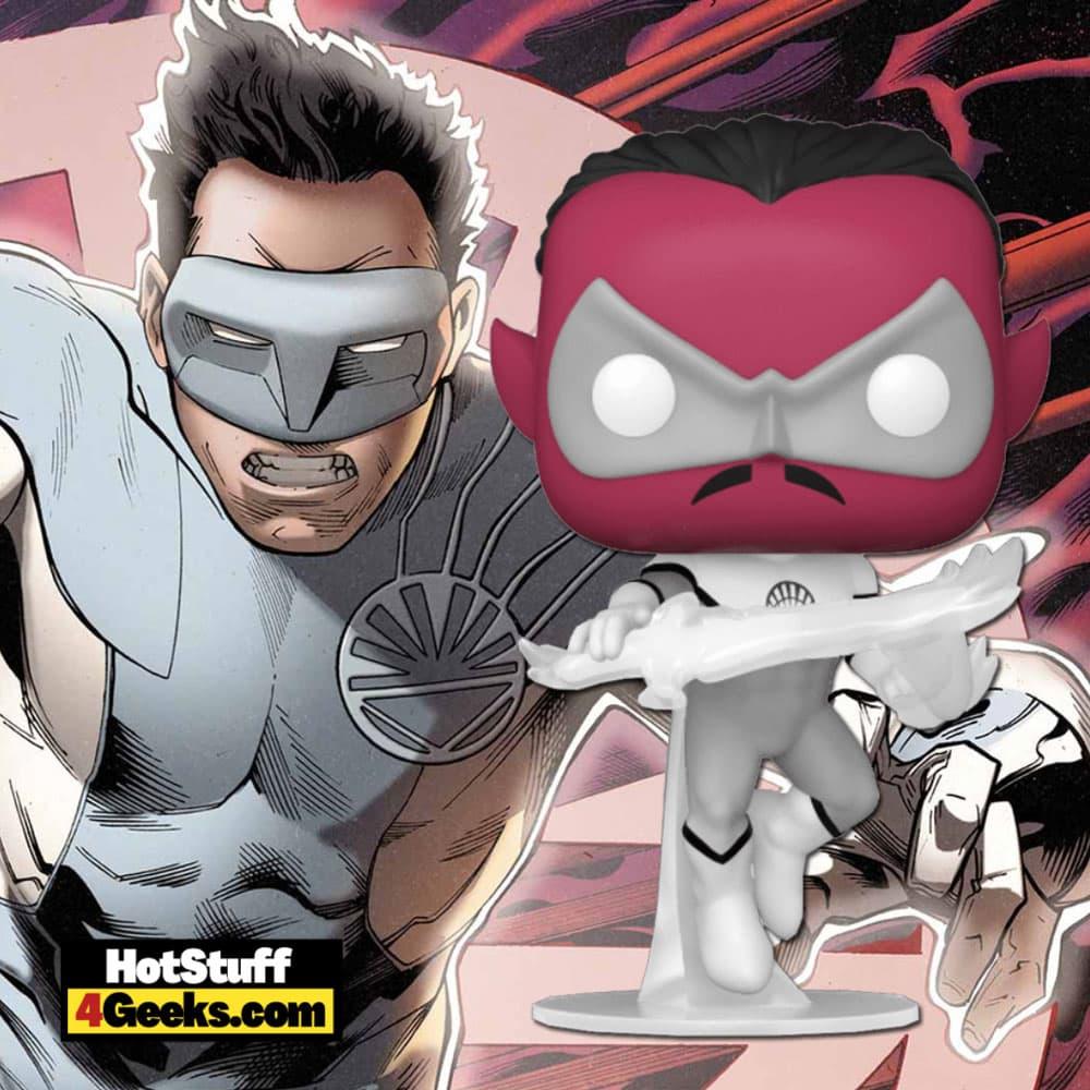 Funko Pop! DC Heroes: Green Lantern - White Lantern Sinestro Funko Pop! Vinyl Figure Virtual FunKon 2021 - Hot Topic Shared Exclusive
