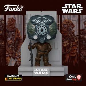 Funko Pop! Deluxe Star Wars: Bounty Hunters Collection – 4-LOM Funko Pop! Vinyl Figure 4 of 7 – GameStop Exclusive