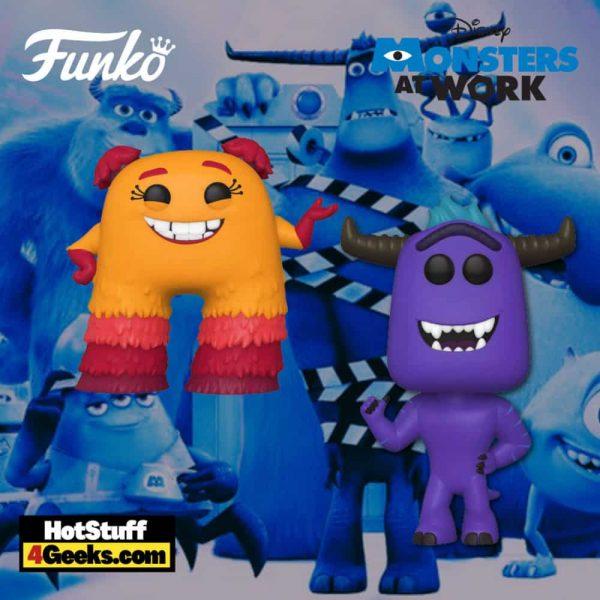 Funko Pop! Disney: Monsters At Work - Tylor Tuskmon and Val Little Funko Pop! Vinyl Figures