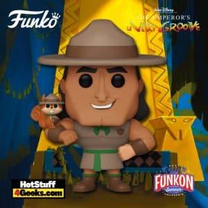 Funko Pop! Disney's Emperor's New Groove - Kronk as Scout Leader Funko Pop! Vinyl Figure Virtual FunKon 2021 - BoxLunch Shared Exclusive