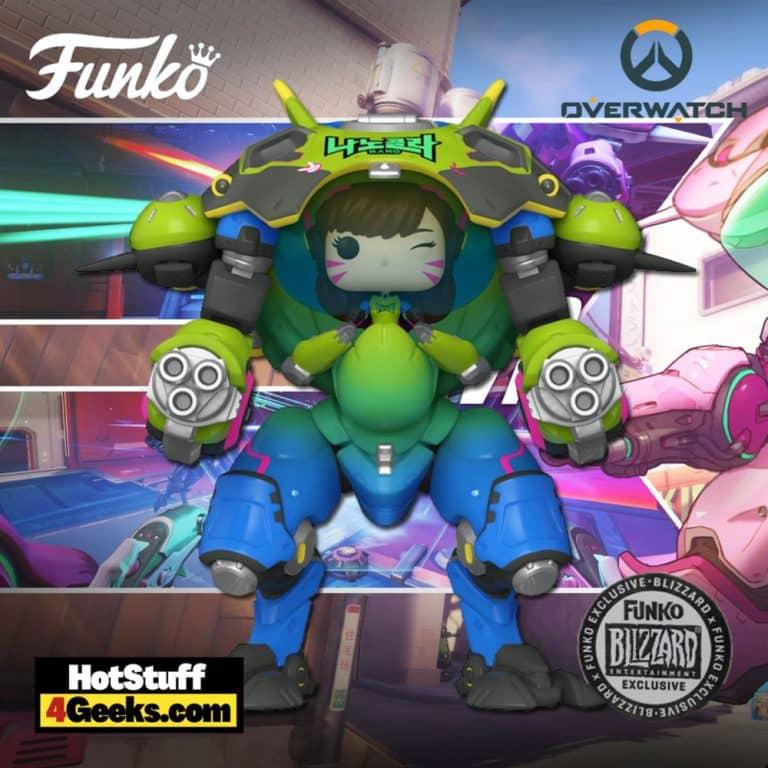 Funko Pop! Games: Overwatch - D.Va with MEKA Funko Pop! Vinyl Figure - Blizzard Exclusive