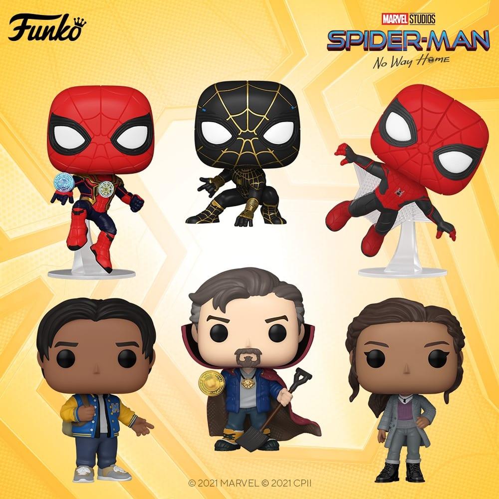 Funko Pop! Marvel - Spider-Man: No Way Home Funko Pop! Figures