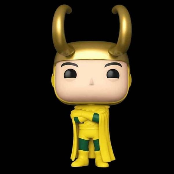 Funko Pop! Marvel Studios: Loki - Classic Loki Funko Pop! Vinyl Figure - BoxLunch Exclusive