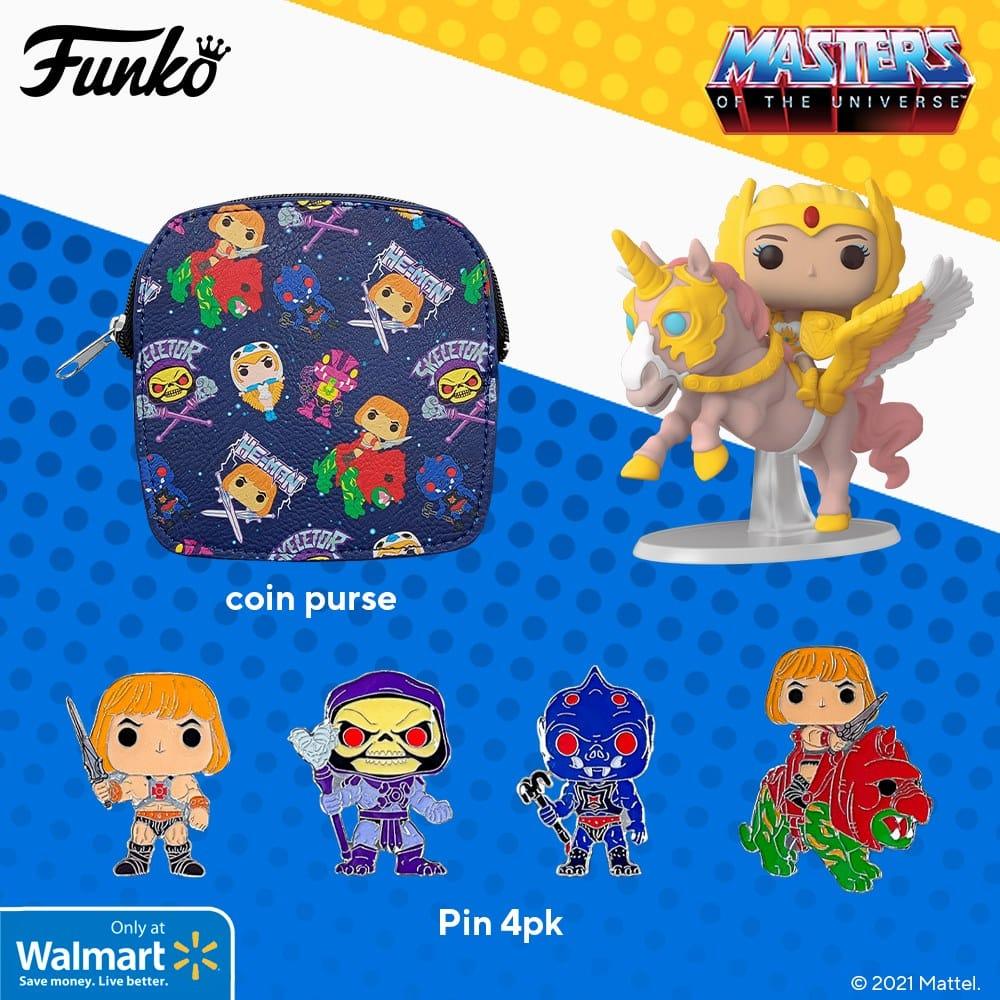 Funko Pop! Rides: Retro Toys - Masters of the Universe (MOTU): She-Ra on Swift Wind Funko Pop! Vinyl Figure - Walmart Exclusive