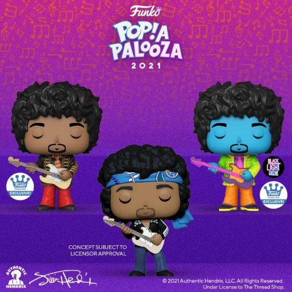 Funko Pop! Rocks: Jimi Hendrix Live in Maui Jacket Funko Pop! Vinyl Figure