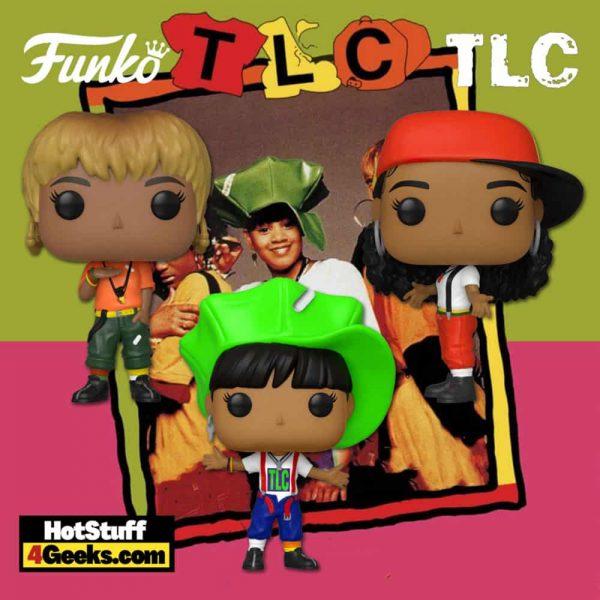 Funko Pop! Rocks: TLC – Left Eye, T-Boz, and Chilli Funko Pop! Vinyl Figures (2021 Released)