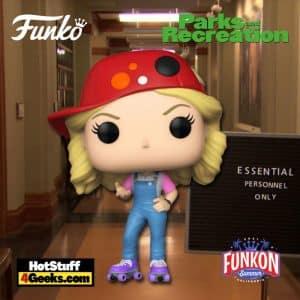 Funko Pop! Television: Parks and Recreation - Filibuster Leslie Funko Pop! Vinyl Figure Virtual FunKon 2021 - FYE Shared Exclusive