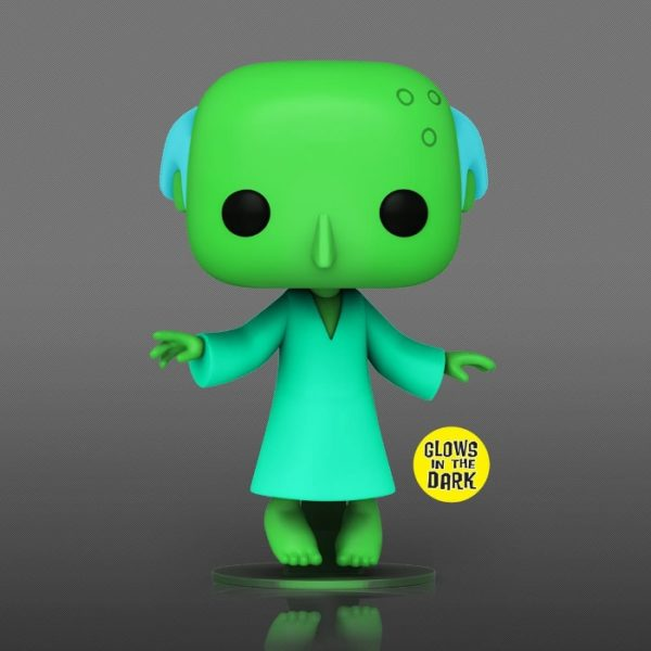Funko Pop! Television: The Simpsons - Glowing Mr. Burns Glow-In-The-Dark (GITD) With Chase Glow Funko Pop! Vinyl Figure - Previews Exclusive