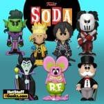Funko Vinyl Soda: Fink Neon, Naruto, Maleficent, Casey Jones, Beast Boy, Kirito and Mr. Monopoly Funko Soda Figures