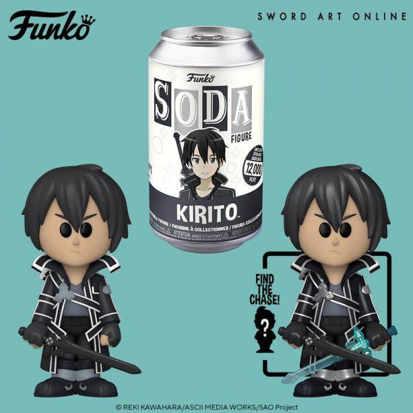 Funko Vinyl Soda Sword Art Online - Kirito Vinyl Soda Figure
