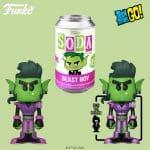 Funko Vinyl Soda Teen Titans - Metal Beast Boy Vinyl Soda Figure with Metallic Chase