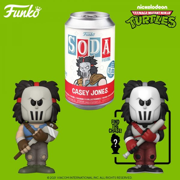Funko Vinyl Soda Teenage Mutant Ninja Turtles - Ninja Casey Jones Vinyl Soda Figure