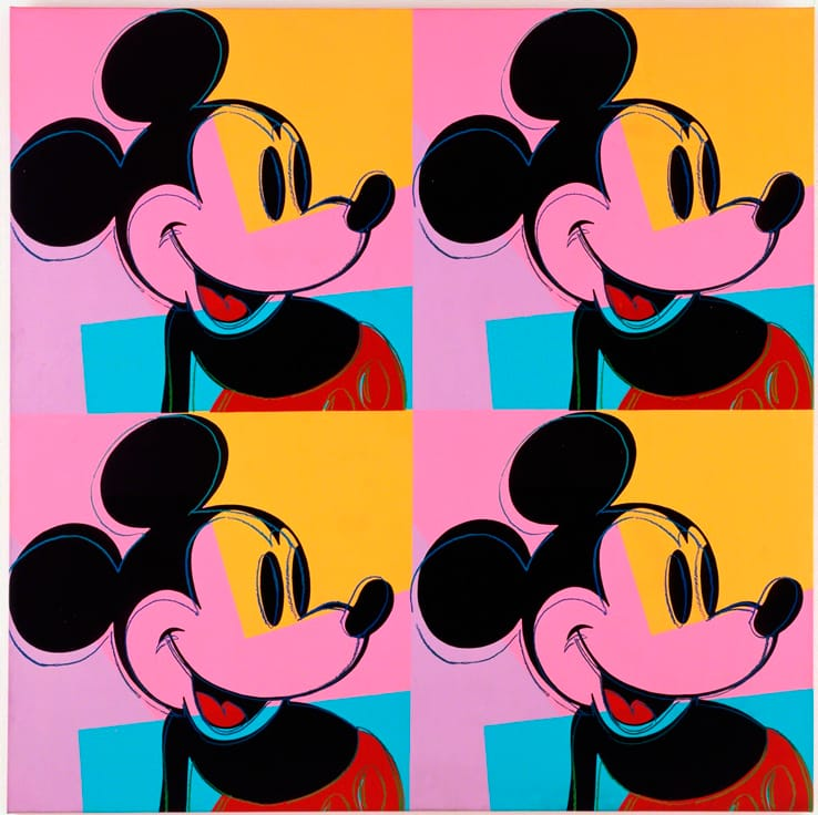 Have you ever seen this famous illustration by Andy Warhol
