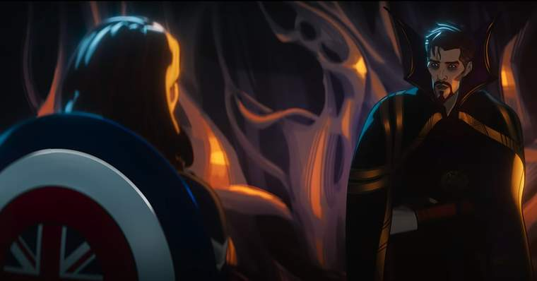 Marvel WHAT IF...? 27 Things to Notice In The Official Trailer - #12 - Doctor Strange and Captain Peggy