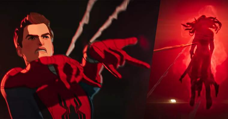 Marvel WHAT IF...? 27 Things to Notice In The Official Trailer - #15 - Spider-Man Versus Scarlet Witch?