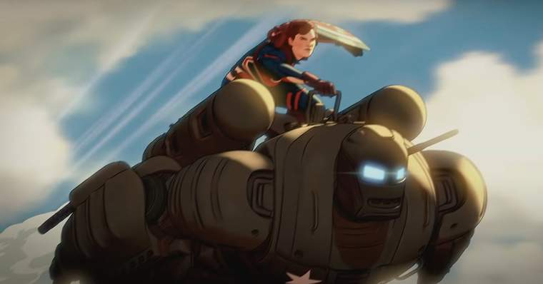 Marvel WHAT IF...? 27 Things to Notice In The Official Trailer - #9 - Peggy Carter and Steve Roger