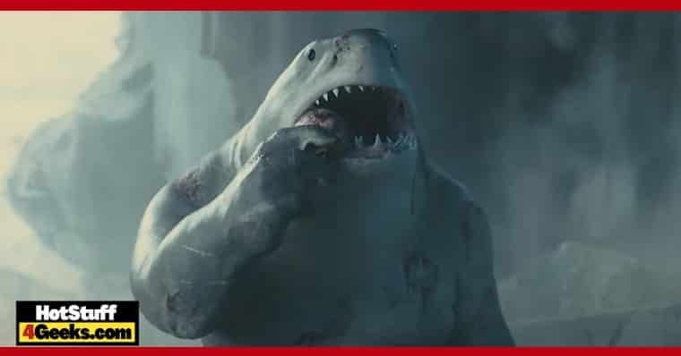 Suicide Squad James Gunn Tested Several King Shark's Voices