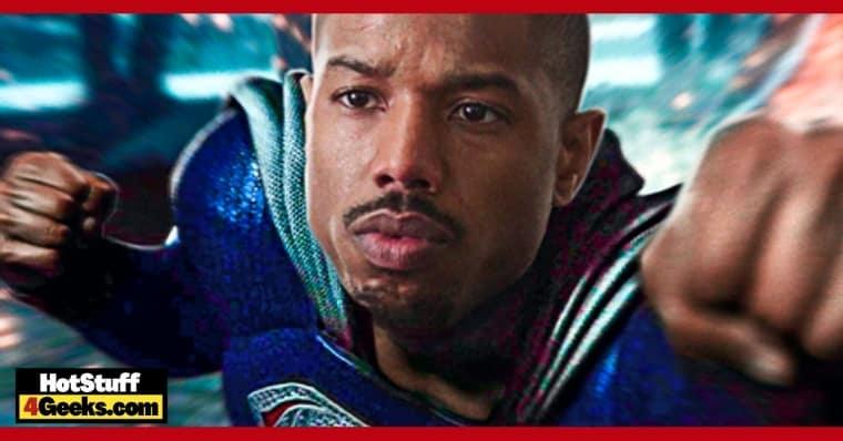 Superman Michael B. Jordan is Working on a Val-Zod Series