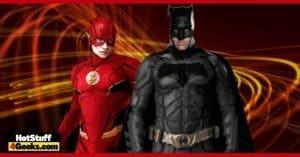 The Flash Ben Affleck's Batman Returns With Behind-The-Scenes Photos