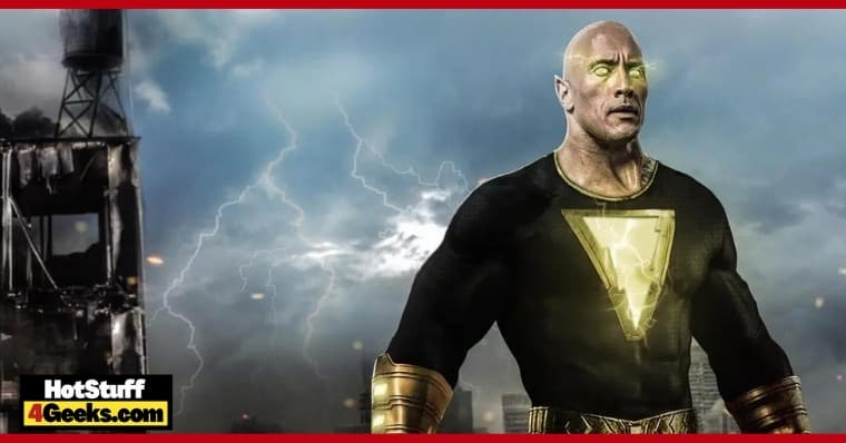 The Rock Compares Black Adam to Superman 'A Single Difference'