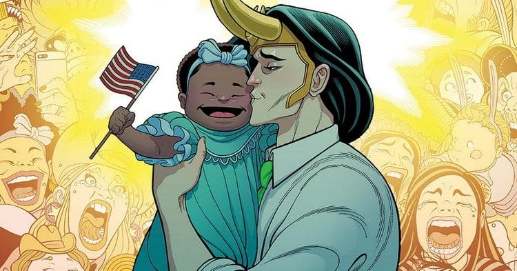 Who is President Loki Meet VOTE LOKI Comic Series - The Plot