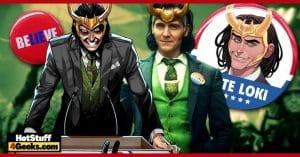 Who is President Loki Meet VOTE LOKI Comic Series