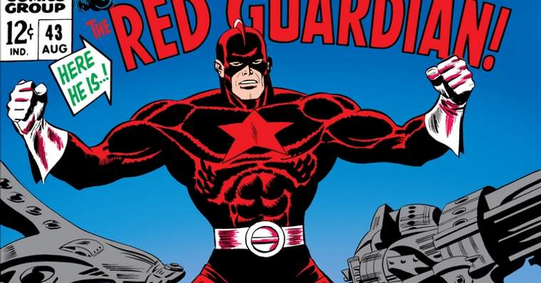 Who is The Red Guardian? - The Red Guardian First Appearance