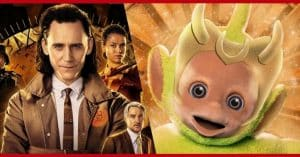 With a Funny Post, Teletubbies Thanks for the Loki Reference