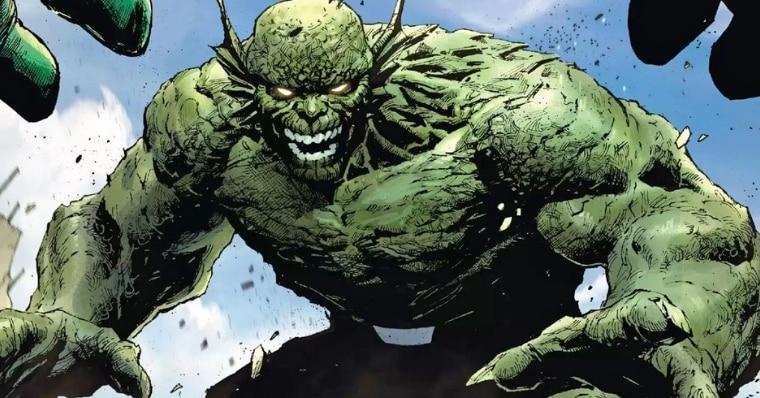 Abomination in Marvel comic book illustration