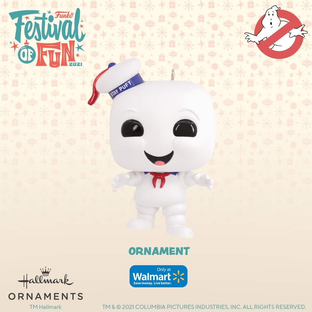 Funko Ghostbusters - Stay Puft Marshmallow Man Christmas Hallmark ornament