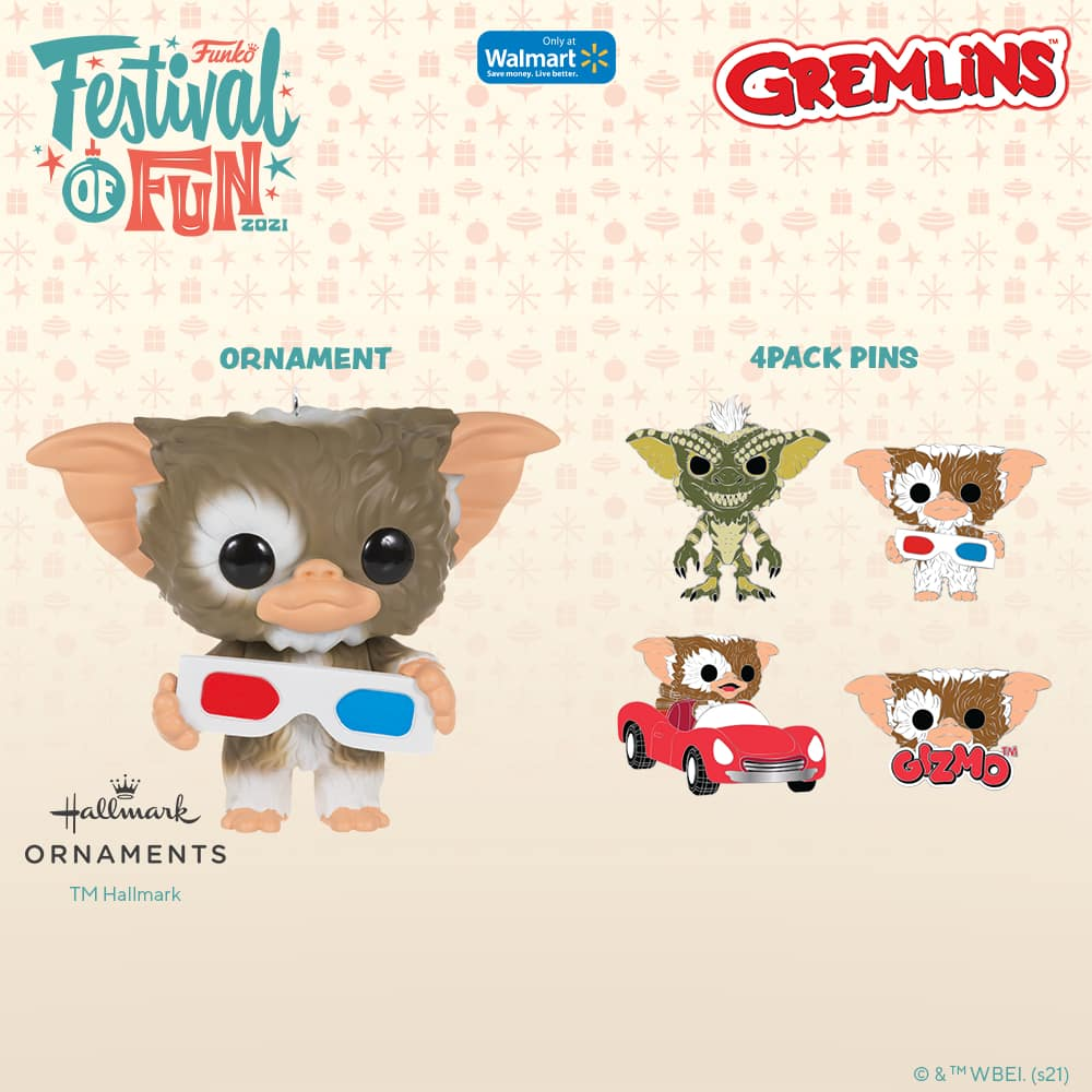 Funko Gremlins - Gizmo Christmas Hallmark ornament