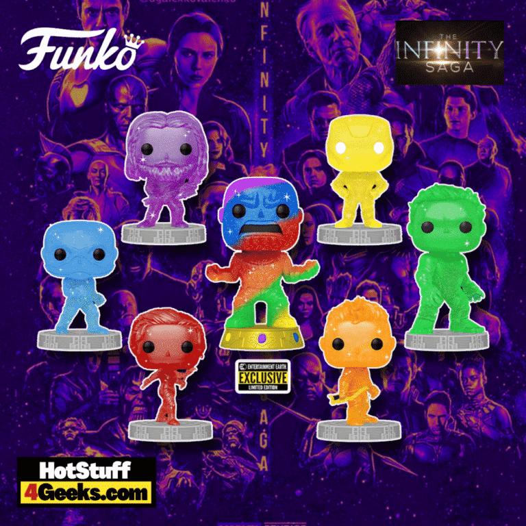 Funko POP! Artist Series: Marvel Studios - Infinity Saga: Thor, Captain America, Black Widow, Hawkeye, Hulk, Iron Man, and Thanos (EE Exclusive) Funko Pop! Vinyl Figures