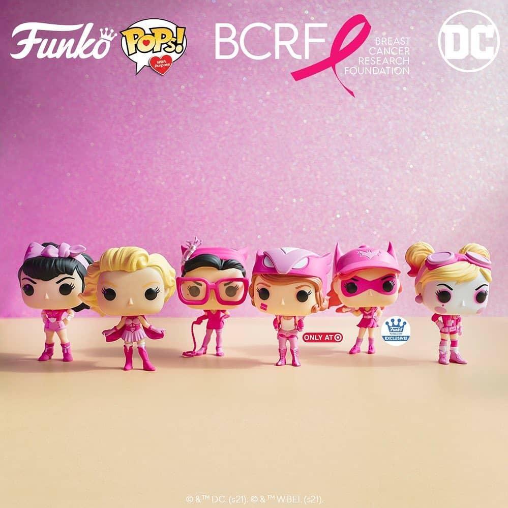 Funko POP! DC Heroes Breast Cancer Awareness - DC Bombshells