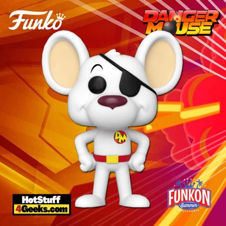 Funko Pop! Animation: Danger Mouse Funko Pop! Vinyl Figure Virtual FunKon 2021 - Funko Shop Shared Exclusive