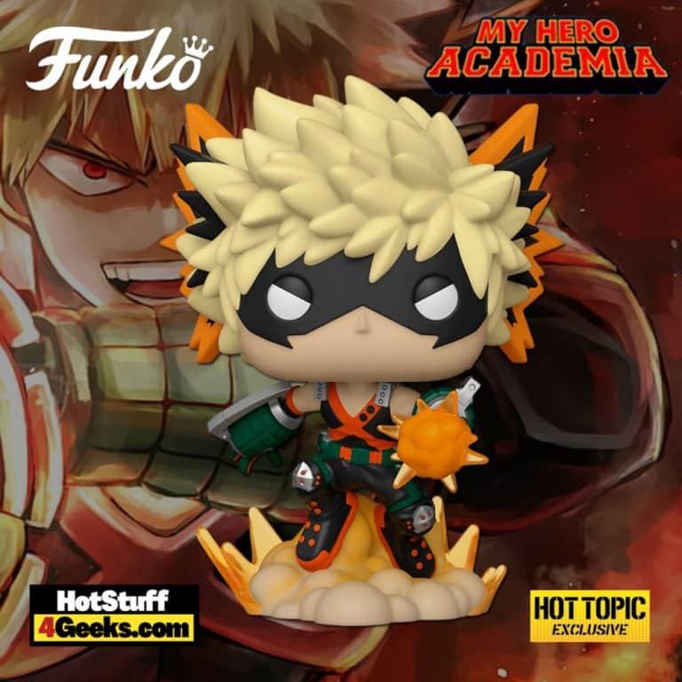 Funko Pop! Animation: My Hero Academia - Katsuki Bakugo Funko Pop! Vinyl Figure - Hot Topic Exclusive