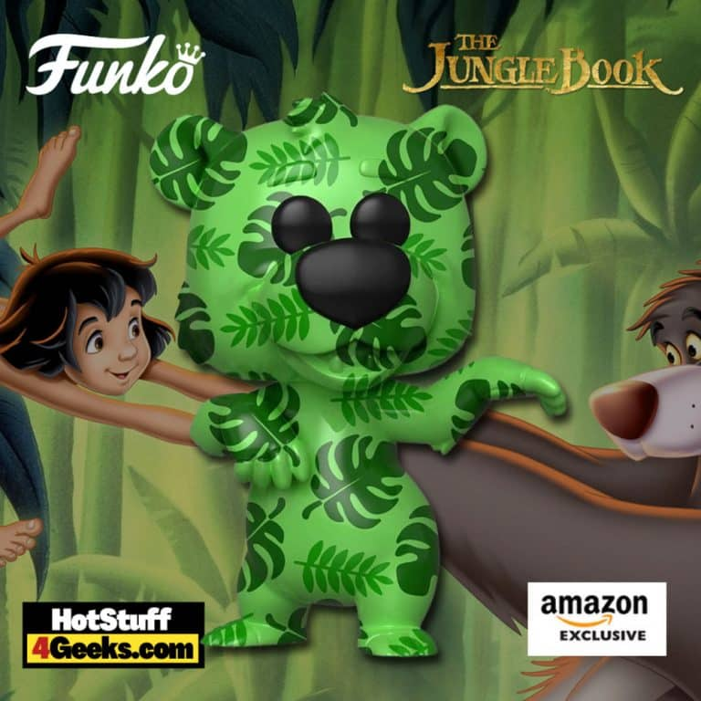 Funko Pop! Art Series: Disney Treasures of The Vault - Jungle Book - Baloo Funko Pop! Artist Series Vinyl Figure – Amazon Exclusive
