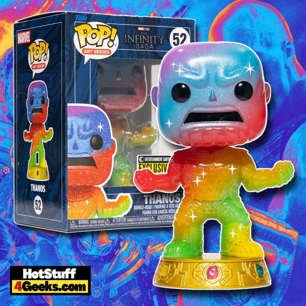 Funko Pop! Art Series: Marvel Infinity Saga: Thanos Artist Series Funko Pop! Vinyl Figure - Entertainment Earth Exclusive