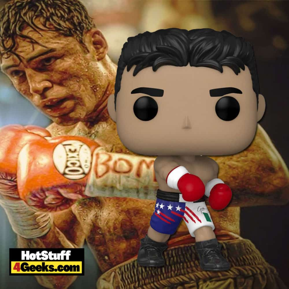 Funko Pop! Boxing: The Golden Boy: Oscar De La Hoya Funko Pop! Vinyl Figure