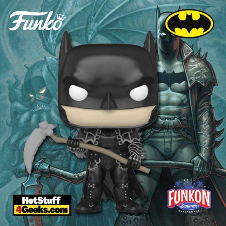 Funko Pop! DC Heroes: Batman Scythe Funko Pop! Vinyl Figure Virtual FunKon 2021 - Entertainment Earth Shared Exclusive