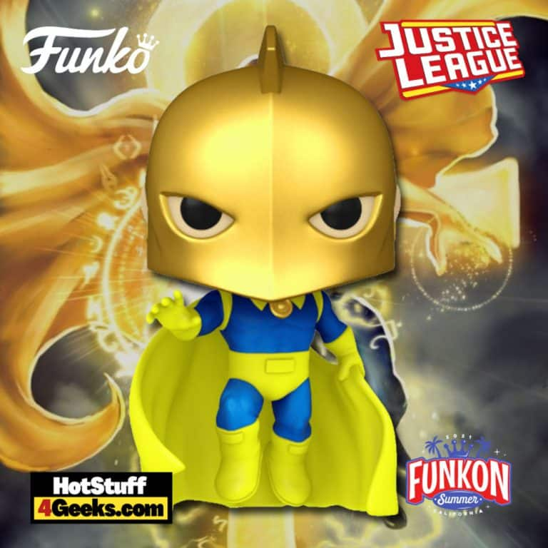 Funko Pop! DC Heroes: Justice League: Doctor Fate Funko Pop! Vinyl Figure Virtual FunKon 2021 - FYE Shared Exclusive