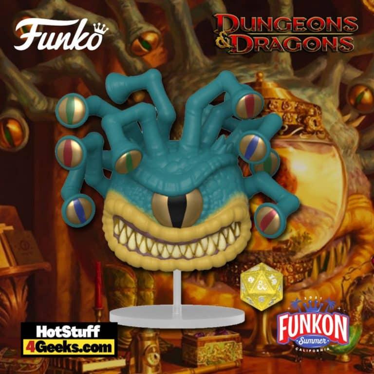 Funko Pop! & Die: Dungeons & Dragons - Xanathar Metallic Funko Pop! Vinyl Figure Virtual FunKon 2021 - GameStop Shared Exclusive