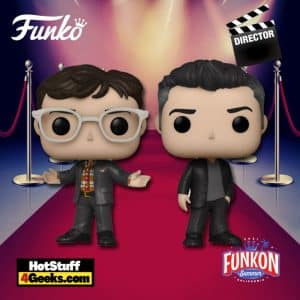 Funko Pop! Directors: The Russo Brothers – Anthony and Joe Russo 2- Pack Funko Pop! Vinyl Figure Virtual FunKon 2021 - Funko Shop Shared Exclusive