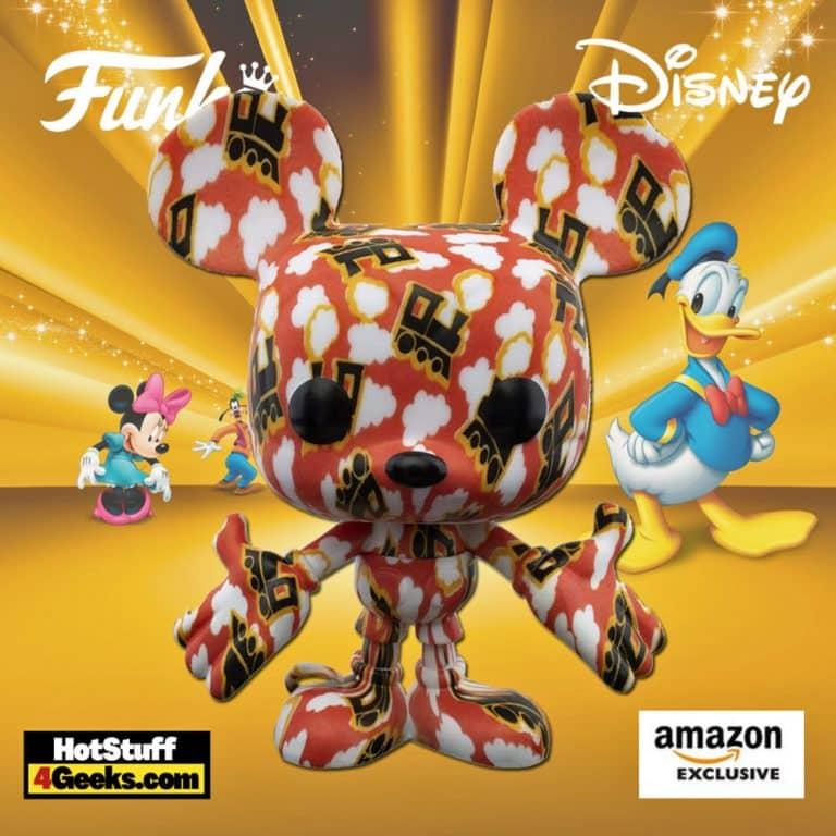 Funko Pop! Disney: Disney Treasures Artist Series: Mickey Mouse With Trains Art Series Funko Pop! Vinyl Figure - Amazon Exclusive