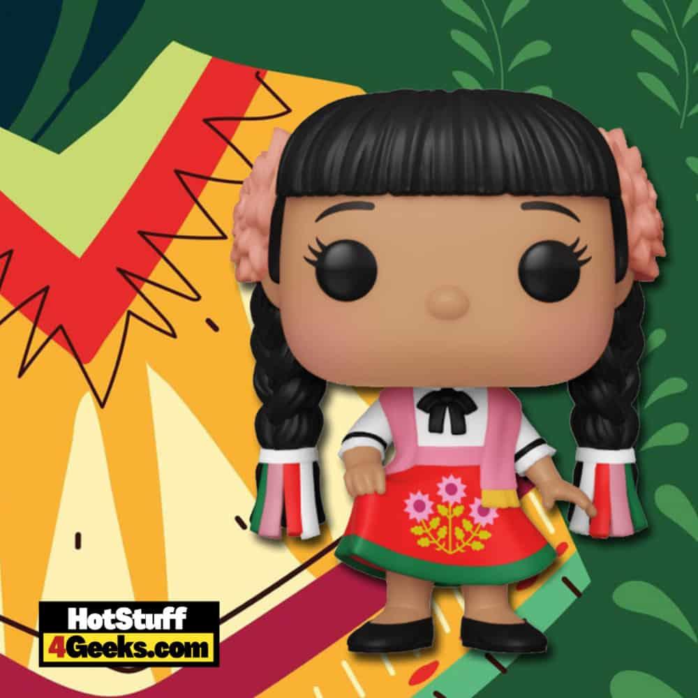 Funko Pop! Disney: It's a Small World - Mexico Funko Pop! Vinyl Figure Virtual FunKon 2021 - Walmart Shared Exclusive