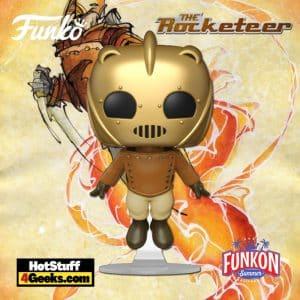 Funko Pop! Disney: The Rocketeer - Rocketeer Flying Funko Pop! Vinyl Figure Virtual FunKon 2021 - Funko Shop Shared Exclusive