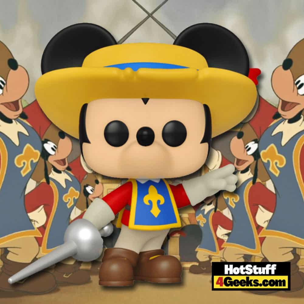 Funko Pop! Disney: The Three Musketeers - Mickey Mouse Funko Pop! Vinyl Figure Virtual FunKon 2021 - Amazon Shared Exclusive