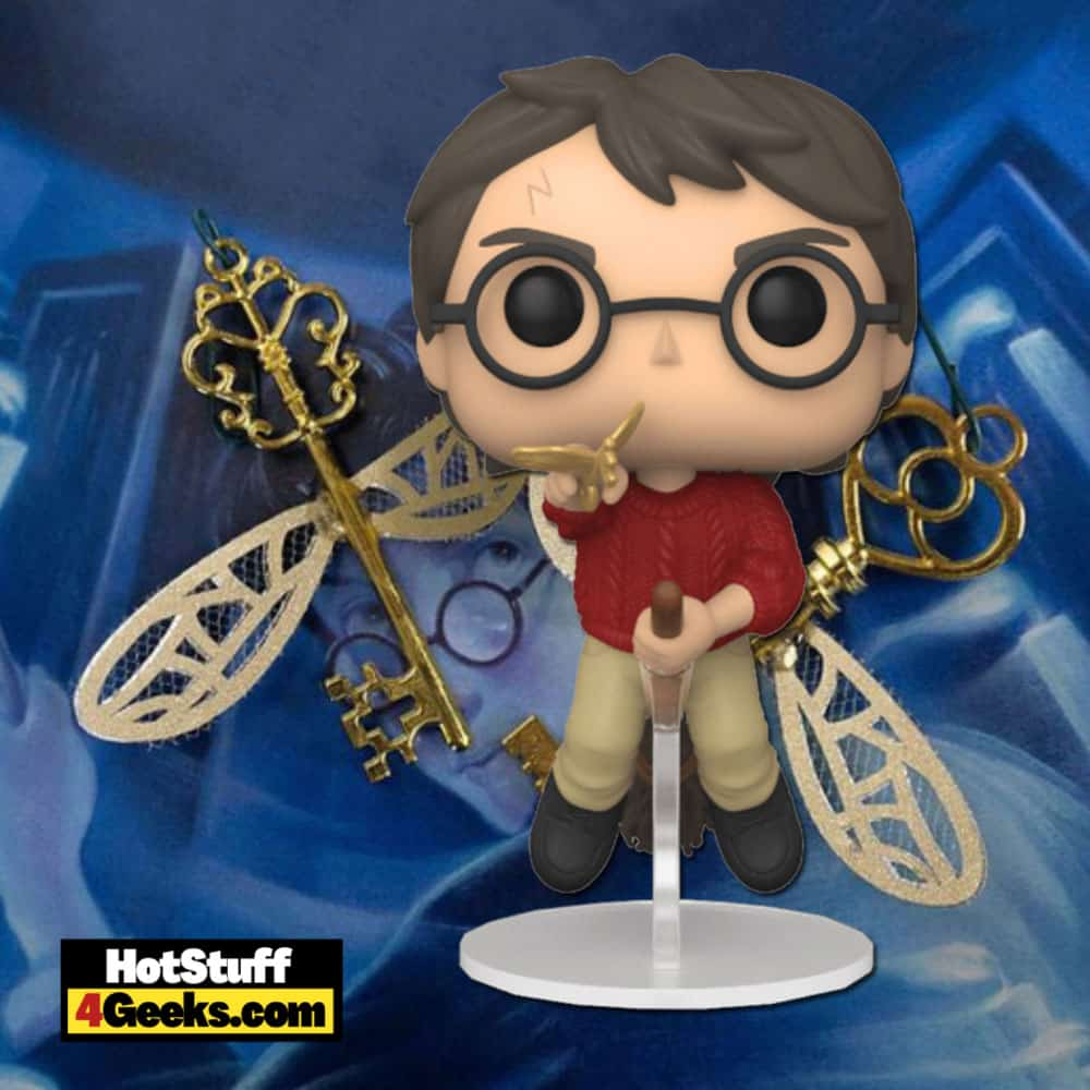 Funko Pop! Harry Potter - 20 Years of Movie Magic - Harry Flying with Winged Key Funko Pop! Vinyl Figure Virtual FunKon 2021 - Barnes & Noble and Books A Million Shared Exclusive