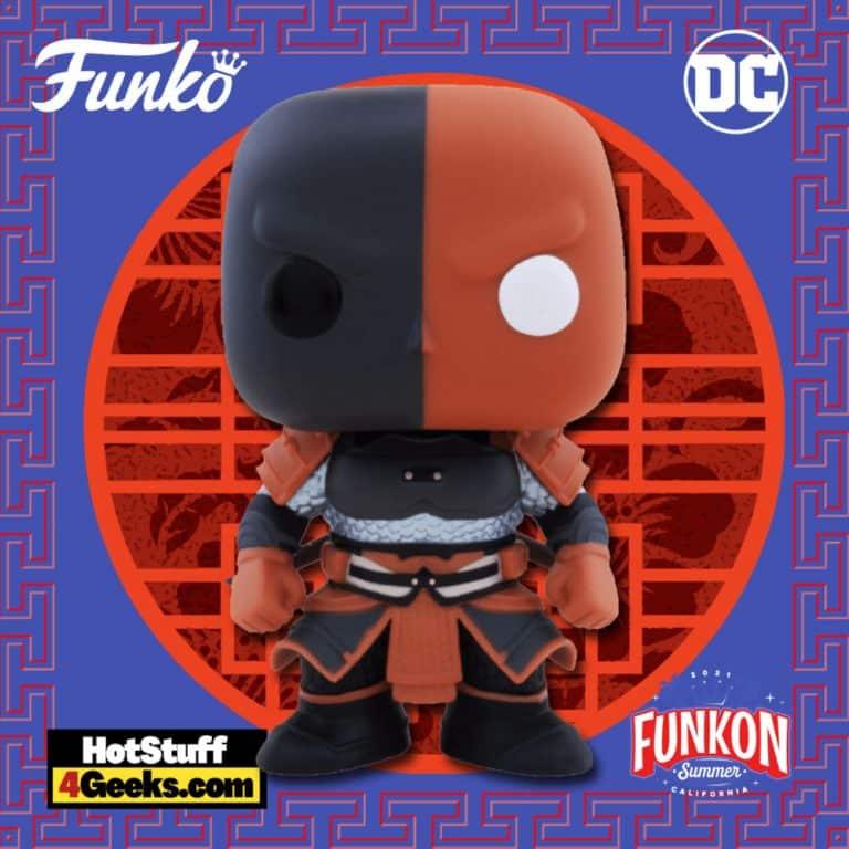 Funko Pop! Heroes: DC Imperial Palace – Deathstroke Funko Pop! Vinyl Figure Virtual FunKon 2021 - Target Shared Exclusive