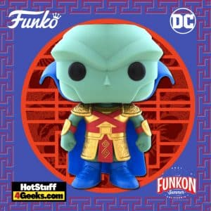 Funko Pop! Heroes: DC Imperial Palace – Martian Manhunter Funko Pop! Vinyl Figure Virtual FunKon 2021 - Funko Shop Shared Exclusive