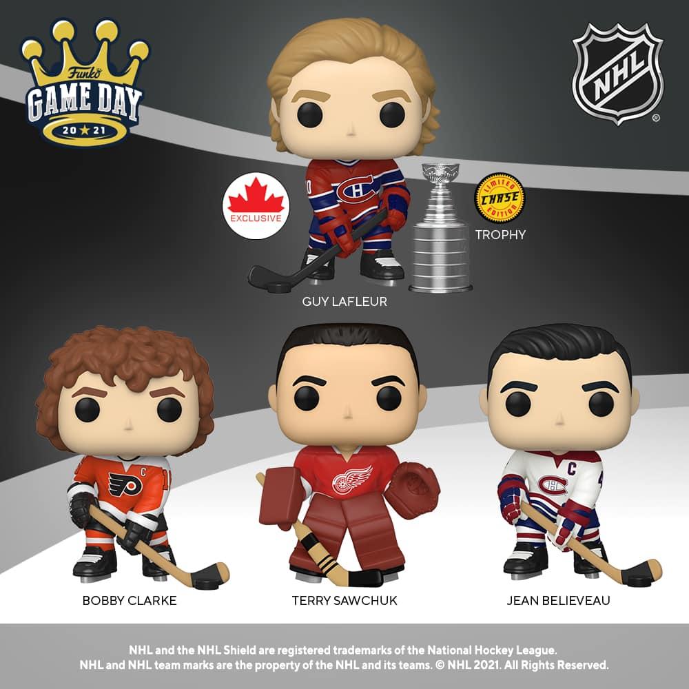 Funko Pop! Hockey NHL and NHL Legends (2021)